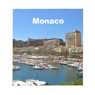 Monte Carlo in Monaco Notepad