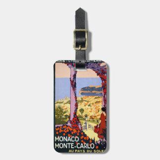 Monte Carlo Luggage Tag