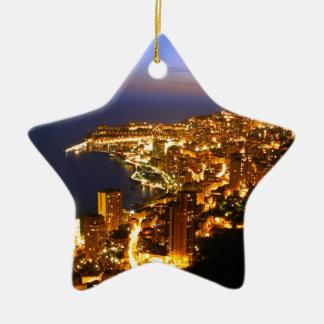 Monte Carlo, Monaco Christmas Ornament
