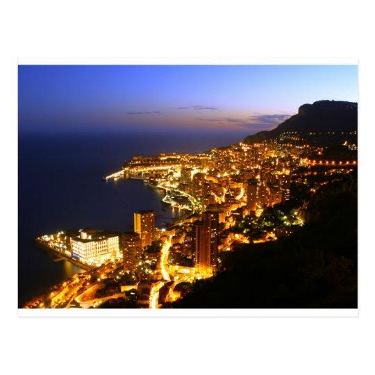 Monte Carlo, Monaco Postcard