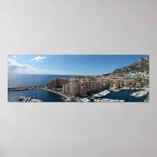 Monte Carlo, Monaco Poster