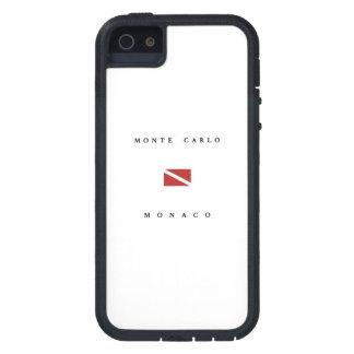 Monte Carlo Monaco Scuba Dive Flag iPhone 5 Case