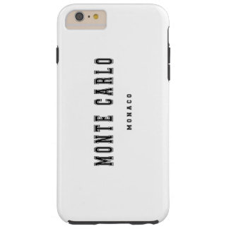 Monte Carlo Monaco Tough iPhone 6 Plus Case