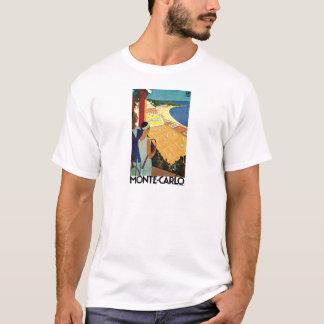 Monte Carlo Monaco Vintage Travel T-Shirt