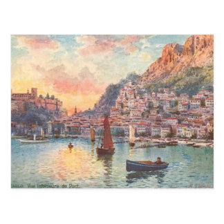 Monte-Carlo Port Postcard