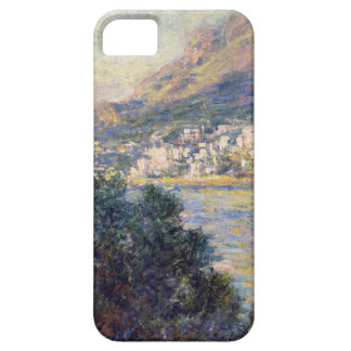 Monte Carlo Seen from Roquebrune by Claude Monet iPhone 5 Cases