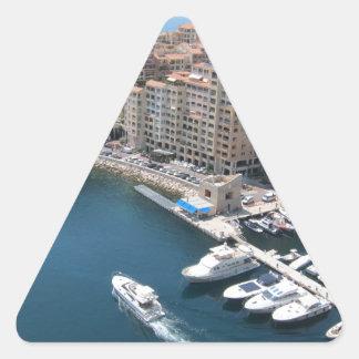 Monte Carlo Triangle Sticker