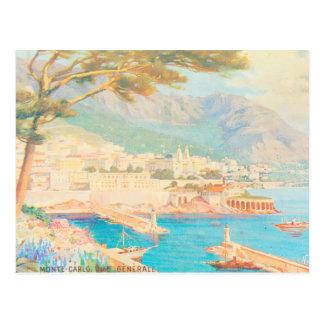 Monte Carlo View Postcard