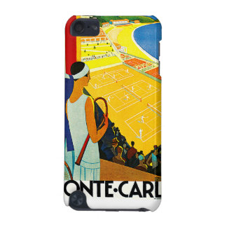 Monte Carlo Vintage Travel Poster iPod Touch 5G Case