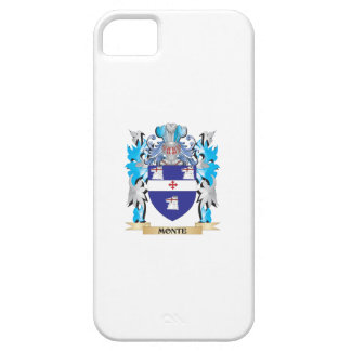 Monte Coat of Arms - Family Crest iPhone 5/5S Cases