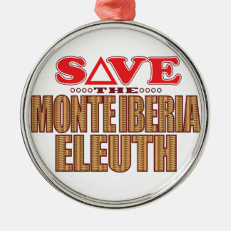 Monte Eleuth Save Christmas Ornament