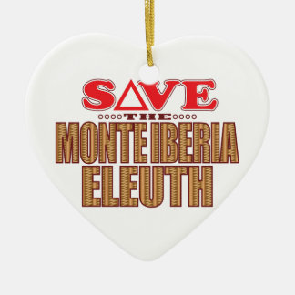 Monte Eleuth Save Christmas Ornament