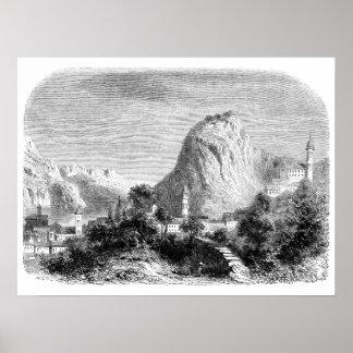 Monte San Salvatore Print