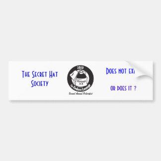 MonteagleShirt_BlackArtOnWhiteShirt, The Secret... Bumper Sticker