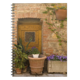 Montefollonico, Val d'Orcia, Siena province, 2 Notebooks