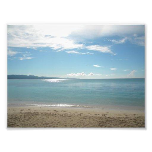 Montego bay beach beauty photo art