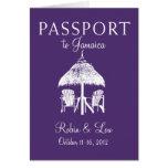 Montego Bay Jamaica Passport Birthday Trip Present
