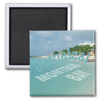 Montego Bay Jamaica Travel Photo Souvenir Magnet
