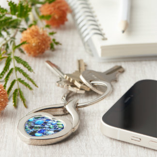 Montego Blues Mosaic Key Ring