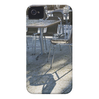 Montenegro, Becici. Becici Beach - Beach Cafe 2 Case-Mate iPhone 4 Case