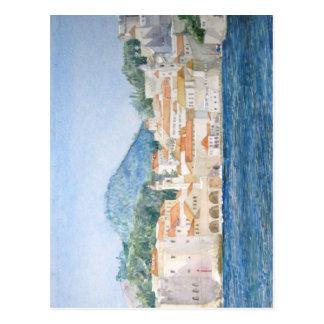 Montenegro Budva Postcard