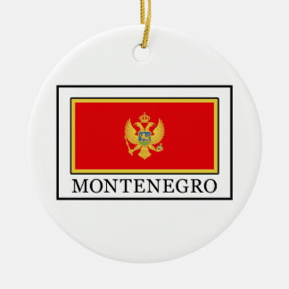 Montenegro Christmas Ornament