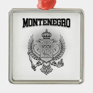 Montenegro Coat of Arms Christmas Ornament