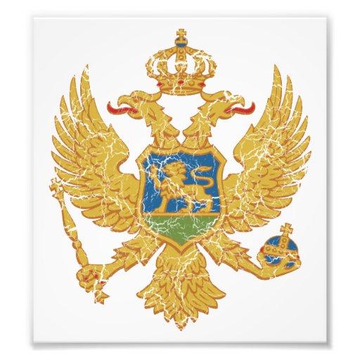 Montenegro Coat Of Arms Photo Print