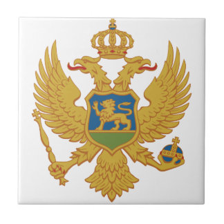 Montenegro Coat Of Arms Tile