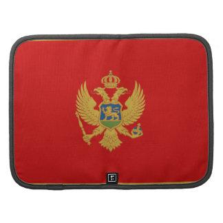 Montenegro Flag Folio Organizer