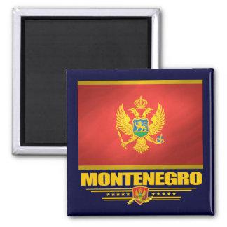 Montenegro Flag Square Magnet