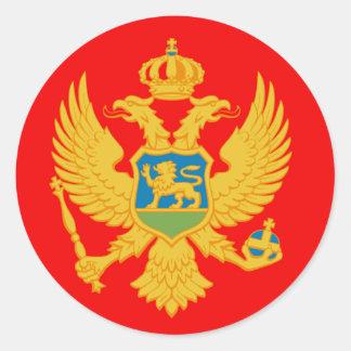 Montenegro Round Sticker