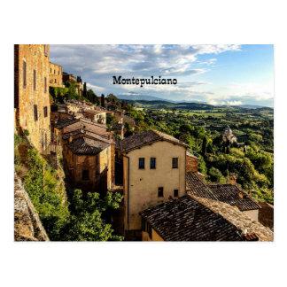 Montepulciano, Toscana, Italy Postcard