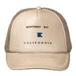 Monterey Bay California Alpha Dive Flag Cap