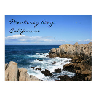 Monterey Bay, California Postcard