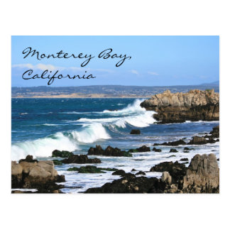 Monterey Bay California, Postcard