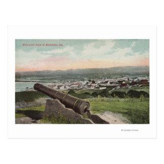 Monterey, CA - Bird's Eye View of Monterey Postcard