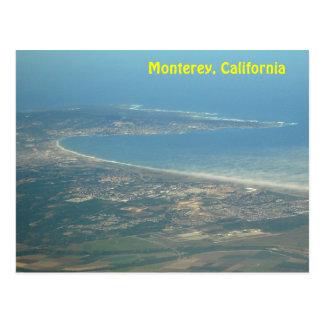 Monterey California Aerial View Postcard