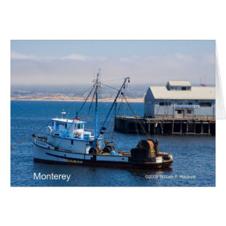 Monterey California Products Greeting Card