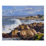 Monterey California Scenic Coast Poster