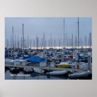 Monterey Marina Posters