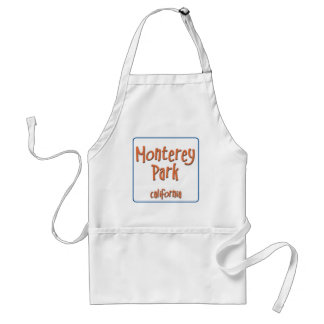 Monterey Park California BlueBox Adult Apron