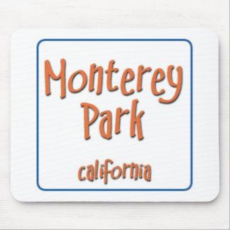 Monterey Park California BlueBox Mouse Pad