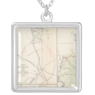 Monterey, TennCorinth, Miss Silver Plated Necklace