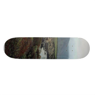 Monterey Waves Beach Coast Ocean Water Custom Skateboard