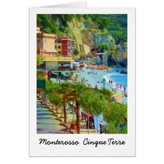 Monterosso, Cinque Terre Italy Card