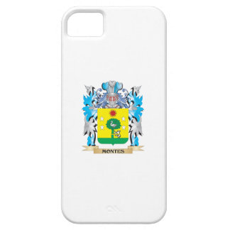 Montes Coat of Arms - Family Crest iPhone 5 Cover