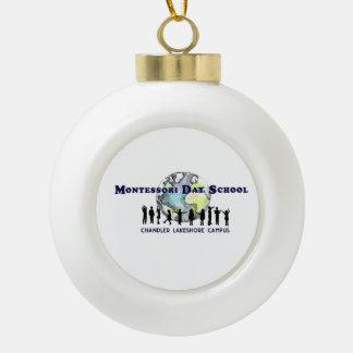 Montessori Day School Chandler Lakeshore  Ornament