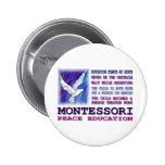 Montessori Dove Buttons