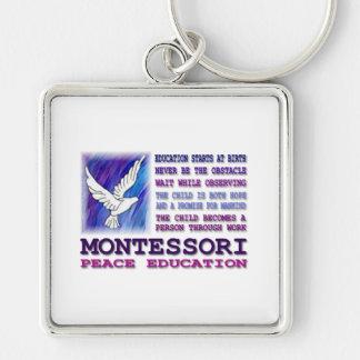 Montessori Dove Key Ring